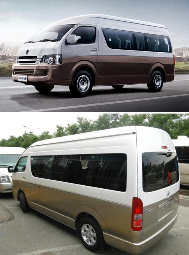 乌鲁木齐租车12-17座丰田海狮商务车带司机包车