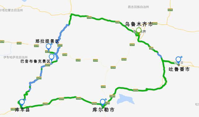 新疆全境自驾游攻略|附多条线路详解